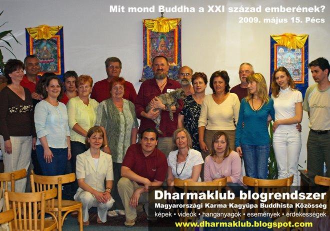 Mit mond Buddha a XXi. század emberének?