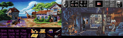 Monkey Island 2 and Gabriel Knight: Sins of the Fathers