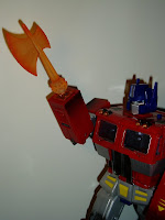 20th Anniversary Prime with Energon axe