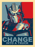 Change Into a Truck - Optimus Prime