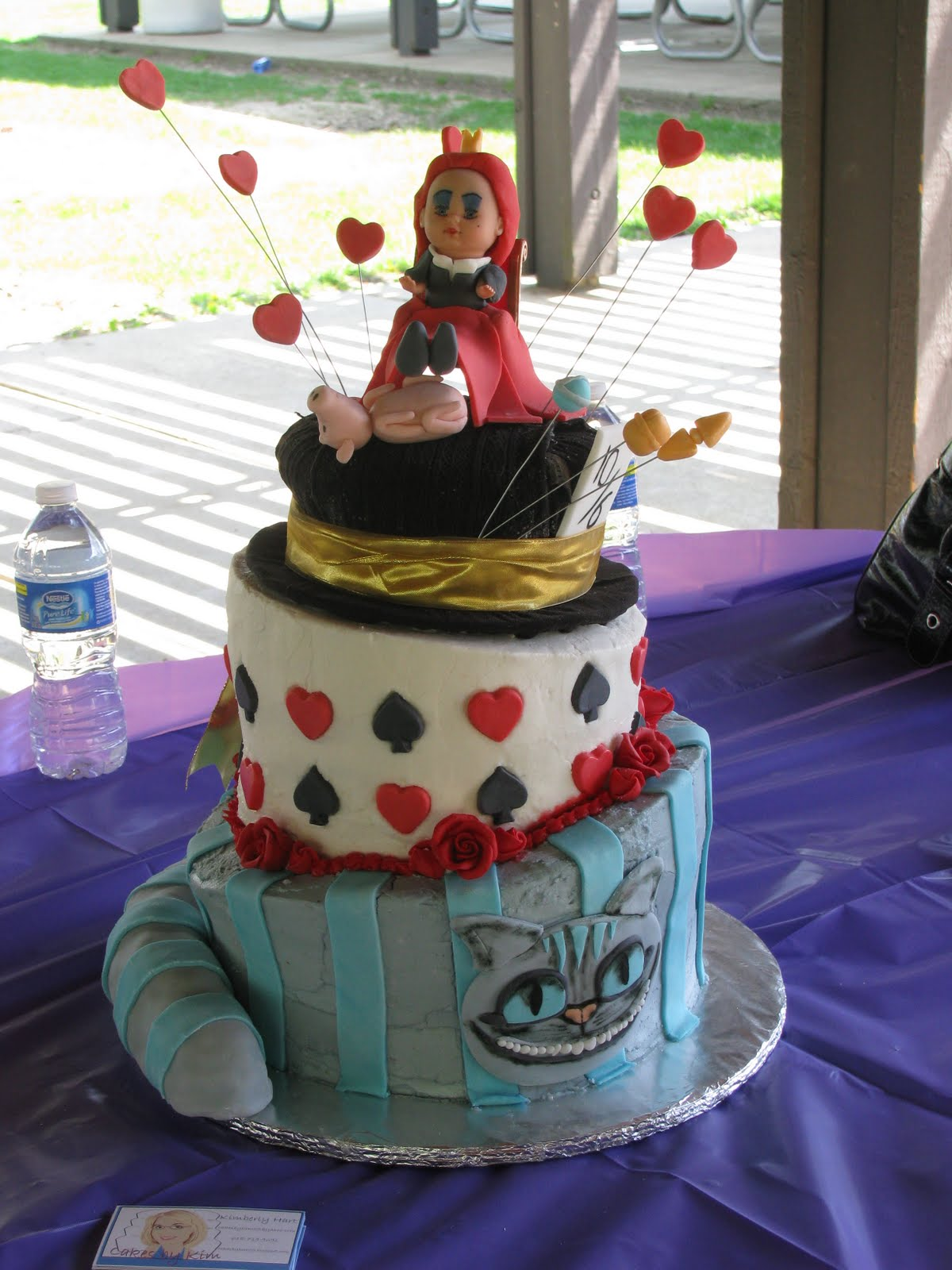 Cakes By Kim Alice In Wonderland Cake