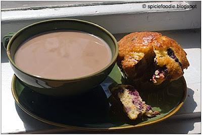 latte, milk and tea, recipe muffin,healthy muffins