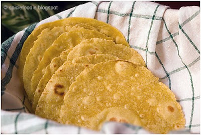 yellow cornmeal tortillas
