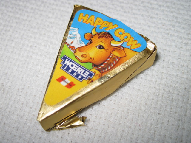 happy cow processed cheese