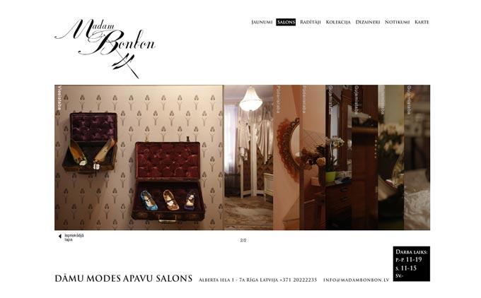 Madam BonBon, apavu salons