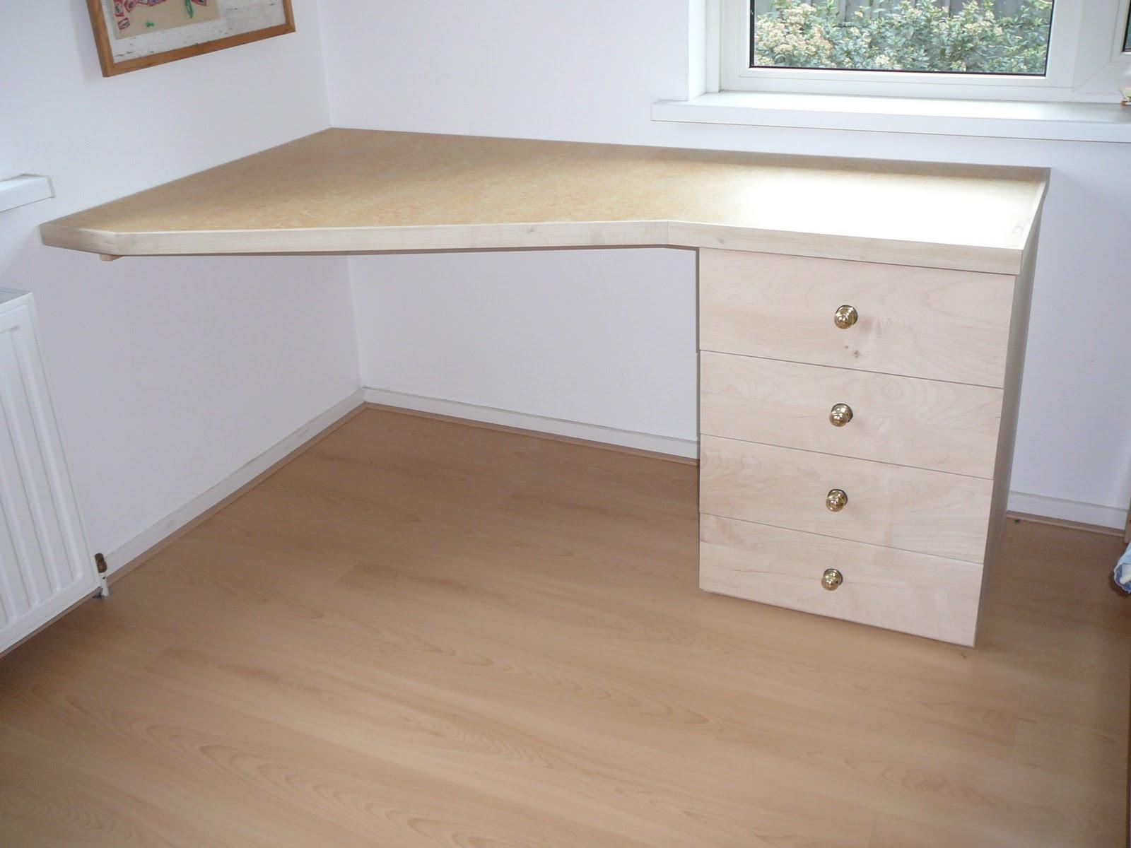 Hartgers hout bureau ladenblok for Ladenblok op bureau