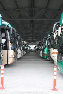 Aπό τα εγκαίνια του νέου αμαξοστάσιου του ΚΤΕΛ στο Αγρίνιο