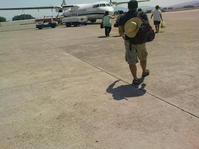 Στο αεροδρόμιο του Ακτίου..