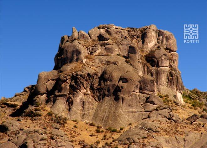 El Templo de Wallallo, cabeza de cóndor