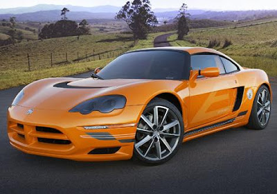 Dodge Circuit EV Спортивный электромобиль