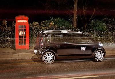 Электрическое такси Volkswagen EV Taxi