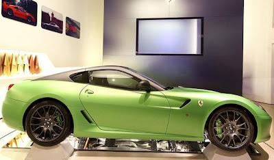 Гибридный спорткар Ferrari Hy-Kers Hybrid