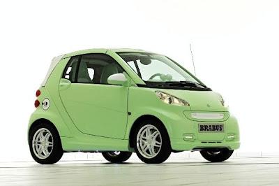 Smart Fortwo Electric Drive от Brabus