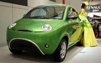 Китайский электромобиль Chery QQEV