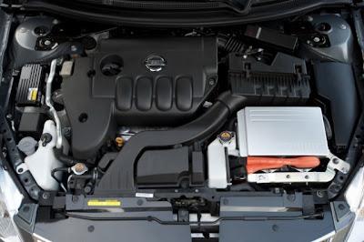 Двигатель Nissan Altima Hybrid