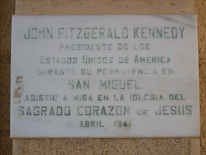 Capilla en Ascochinga. Lugar donde estuvieron Kennedy Y Jackie, pero en diferentes años...