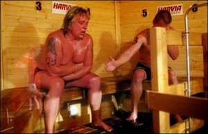 fallece en un concurso de sauna 2010