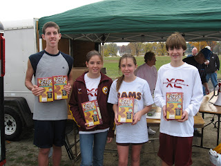 Age Group winners at Cooper River Turkey Trot