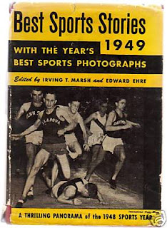 Browning Ross on cover of 1949 Sports Book