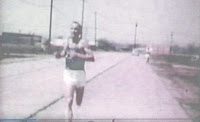 Browning Ross winning race at Cooper River Park, NJ in 60's