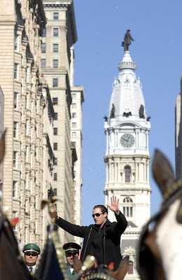 Pat Burrell, City Hall