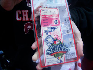 1980 and 2008 World Series tickets