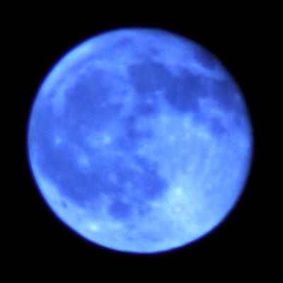 Blue Moon on Tuesday