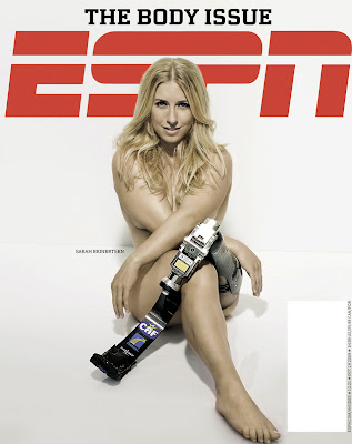 ESPN Body Issue pictures - Sarah Reinersten