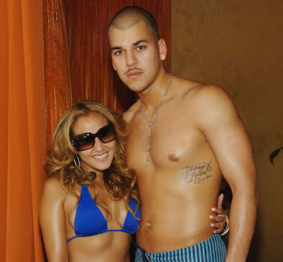 Adrienne Bailon and Rob Kardashian break-up