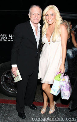 Hugh Hefner and Crystal Harris Engaged