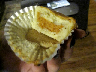 Tiny Pumpkin Pie IN A CUPCAKE