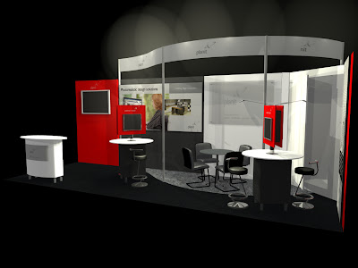 Exhibition Stand Booth Design, Trade Show Exhibit Booth Design