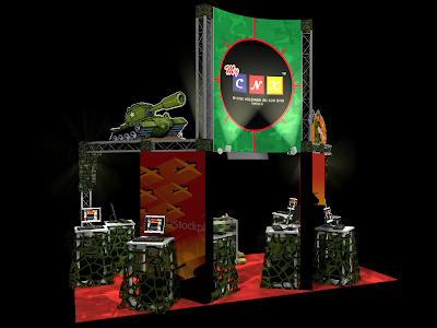 Exhibition Stand Booth Design - MyCNX