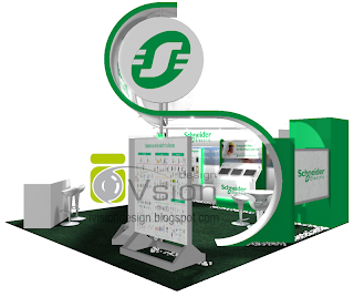 Exhibition Stand Booth Design: Schneider