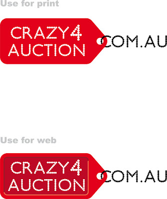 Corporate Logo Design - Crazy4Auction.com.au