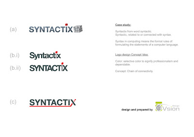 Corporate Logo Design - Syntactix