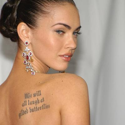 megan fox hairstyles. Megan Fox in a straight long