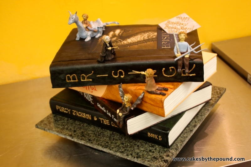 Cakes By The Pound Everybody Wants Some Fantasy Books