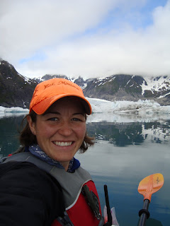 Audrey Gill in Pederson Lagoon, Seward, Alaska