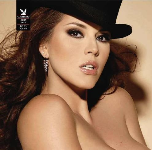 playboy Alicia machado