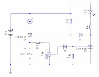 Gambar rangkaian charger accu 12 volt otomatis | Gambar pengisi aki ...