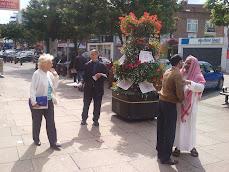 تظاهرة تاييد مع اهالي ضحايا ابوسليم ليبيا 14اغسطس 2010