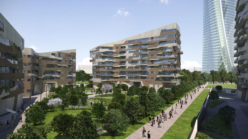 milano, citylife, residenze hadid