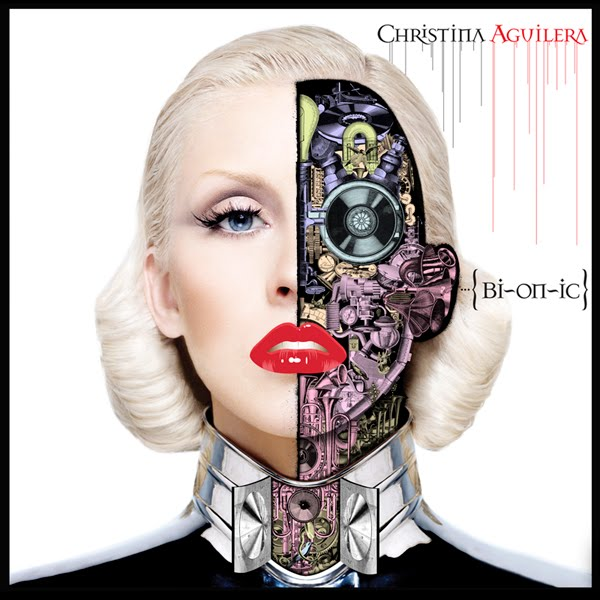 christina aguilera, bionic, album, cover
