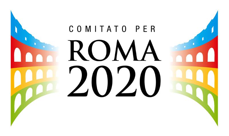 roma 2020, candidata, logo