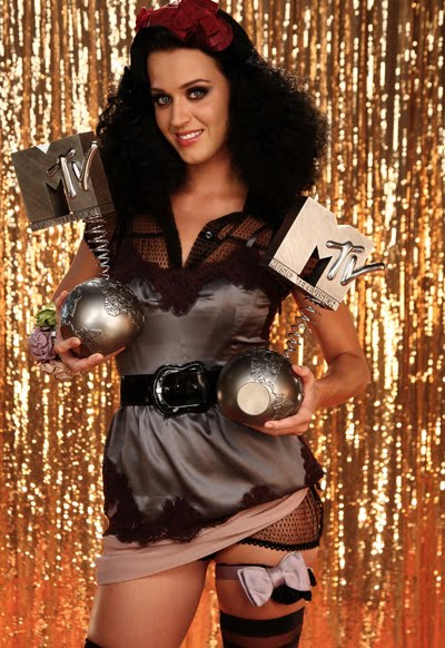 katy perry, europe music awards, ema's, 2009