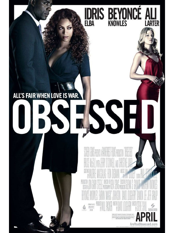 obsessed, movie, film, poster