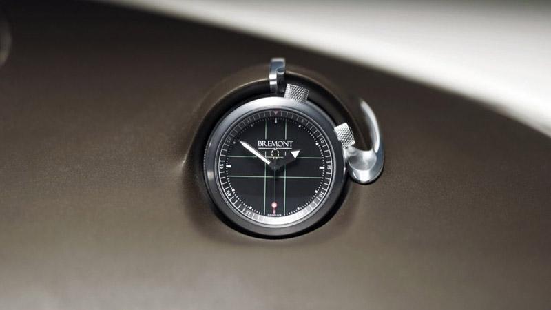jaguar concept cx75, orologio