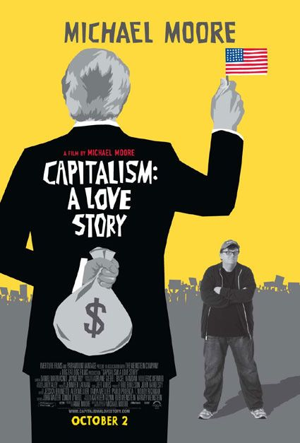 capitalism: a love story, poster, usa