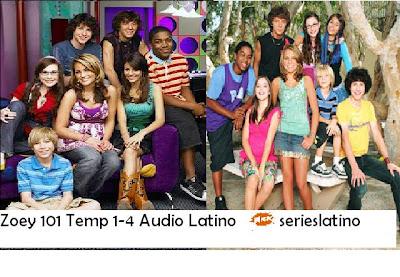 Zoey 101 Temp 1,2,3 y 4 Audio Latino